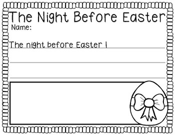 The Night Before Easter (A Story Companion)