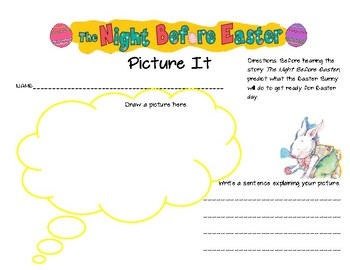 The Night Before Easter Activity Pack