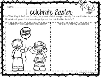 The Night Before Easter Extension Activities