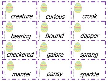 The Night Before Easter Speech & Language Companion Packet