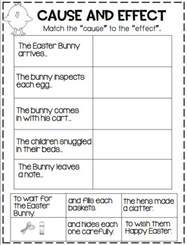 Craft and Activities to Accompany a Night Before Easter!