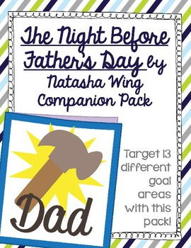 The Night Before Father's Day by Natasha Wing Companion Pack