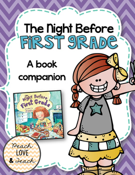 The Night Before First Grade {Book Companion}