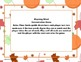 The Night Before Halloween 2nd Grade Literacy