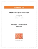 The Night Before Halloween: Ideas for Conversation