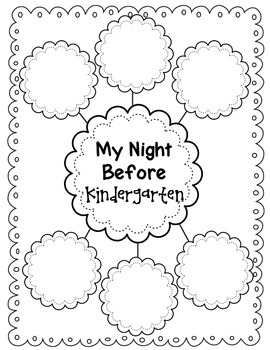 The Night Before Kindergarten {Book Companion}