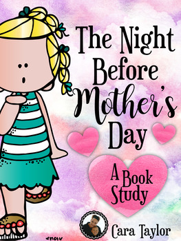 The Night Before Mother's Day Book Study and Crafts