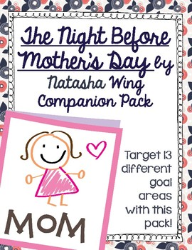The Night Before Mother's Day by Natasha Wing Companion Pack