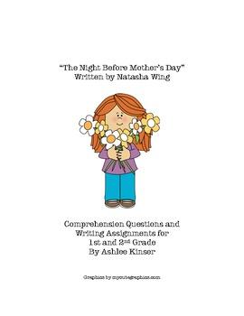 """""""The Night Before Mother's Day""""- Comprehension and more Mother's Day"""