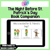 The Night Before St. Patrick's Day Book Companion | Speech