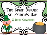 The Night Before St. Patrick's Day Book Companion Freebie
