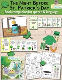 """The Night Before St. Patrick's Day"":  Book Companion for Speech Therapy"