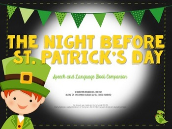 The Night Before St. Patrick's Day Book Companion