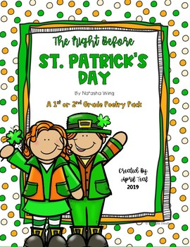 The Night Before St. Patrick's Day Poetry Pack
