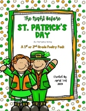 """""""The Night Before St. Patrick's"""" Day Poetry Pack"""