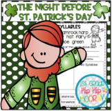 Craft and Activities to Accompany The Night Before St. Patrick's Day...!