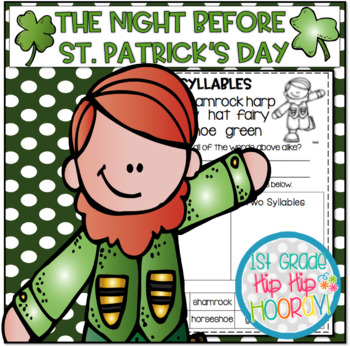 Craft and Activities to Accompany The Night Before St. Pat
