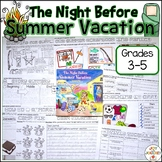 The Night Before Summer Vacation Activities