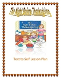 The Night Before Thanksgiving (Natasha Wing) Text to Self Lesson Plan