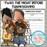 Literacy Activities to Accompany 'Twas the Night Before Thanksgiving!