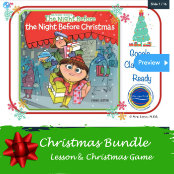 The Night Before The Night Before Christmas- LP  K-2- by Natasha Wing