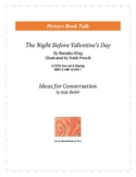 The Night Before Valentine's Day: Ideas for Conversation