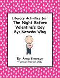 The Night Before Valentine's Day Literacy Activities