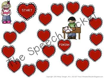 The Night Before Valentine's Day – Speech and Language Activities (Valentine's)