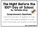 The Night Before the 100th Day of School Comprehension