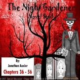 The Night Gardener Auxier Novel Study Chapters 36 - 56 SPED/ELD