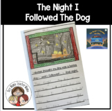 The Night I Followed the Dog Planning Page and Writing Paper