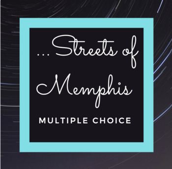 The Night I Won the Right To the Streets of Memphis Multiple Choice