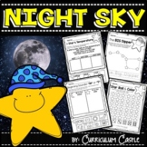 Night Sky: Moon and Stars!