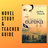 The Night They Stormed Eureka Novel Study and Comprehension Guide