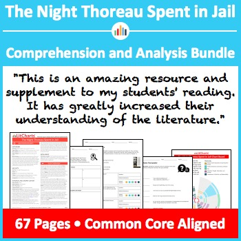 The Night Thoreau Spent in Jail – Comprehension and Analysis Bundle