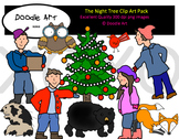The Night Tree Clipart Pack