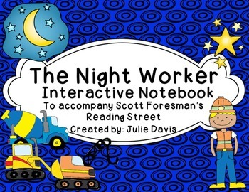 The Night Worker Interactive Notebook Journal