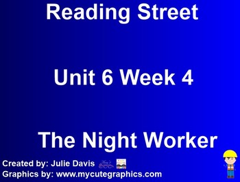 The Night Worker SmartBoard Companion Kindergarten