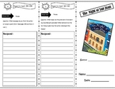 The Night of San Juan Storytown Comprehension Trifold