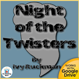 Night of the Twisters Novel Study CD