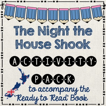 The Night the House Shook- Ready to Read New Zealand