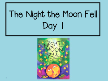 The Night the Moon Fell 2nd Grade Reading Street Powerpoints