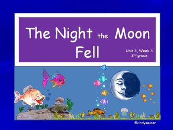 The Night the Moon Fell, Interactive PowerPoint, 2nd Grade