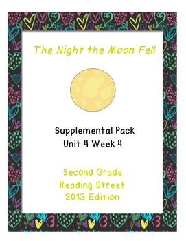 The Night the Moon Fell, Reading Street Unit 4 Week 4 Reso