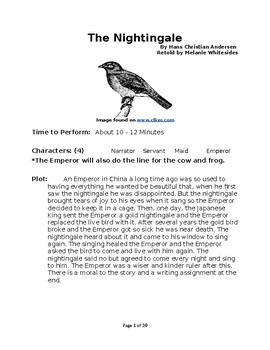 The Nightingale - Small Group Fairy Tale Reader's Theater
