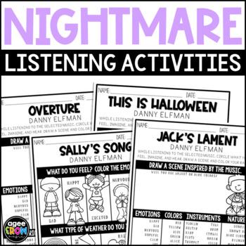 the nightmare before christmas halloween activities october danny elfman - Danny Elfman Nightmare Before Christmas Overture