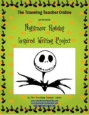 The Nightmare Before Christmas Inspired Writing Project