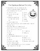The Nightmare Before Christmas Movie Questions ONLY