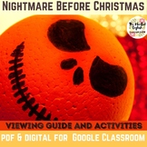 The Nightmare Before Christmas Movie Viewing Guide. Graphi