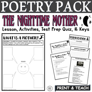 The Nighttime Mother: Common Core Poetry Practice (FSA Reading Practice)